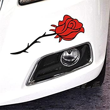 Amazon Com Bargain Max Decals Red Rose Sticker Decal