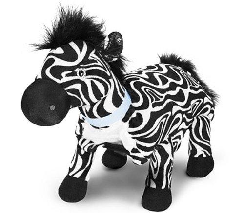 Zoobies Pet Zulu the Zebra