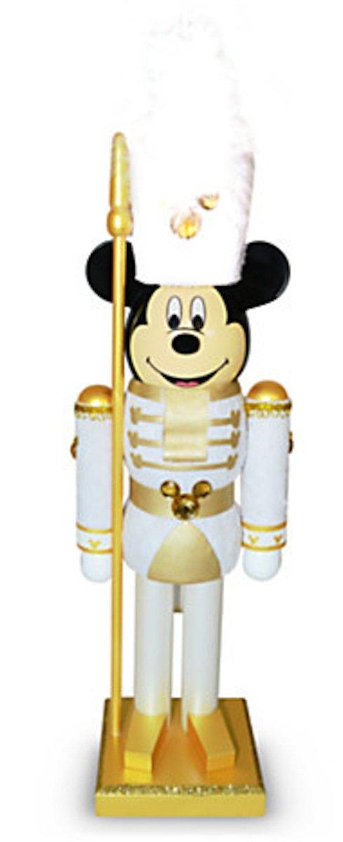 Disney Parks White Guard Mickey Mouse Nutcracker Christmas Holiday NEW
