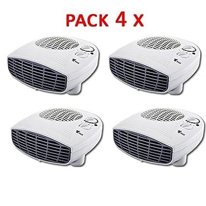 Calefactor Termoventilador Estufa portatil 1000-2000W Termostato. Protección contra sobrecalentamiento. Función de aire