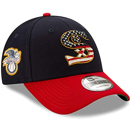 - New Era Chicago White Sox 2019 Stars & Stripes 4th of July 940 9FORTY Adjustable Cap Hat