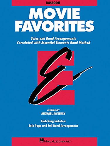 Book Bassoon Music 1 (Essential Elements Movie Favorites: Bassoon (Essential Elements Band Method))