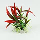 Plant Grass For Aquarium Fish Tank Landscape Decoration Artificial Decor Plastic High Quality