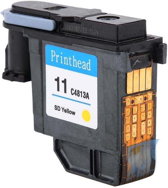 Eboxer Cabezal de Impresión para HP Officejet 9110/9120/9130,Pro k850 / 850dn, Designjet 500ps, Designjet Copiadora cc800ps para HP 500 510 800 Series(Amarillo): Amazon.es: Electrónica