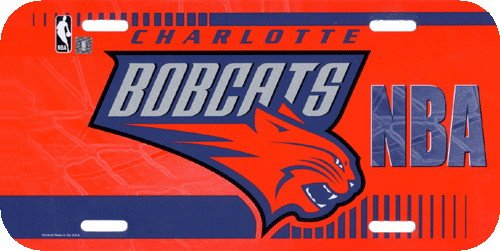 NBA Charlotte Bobcats License Plate