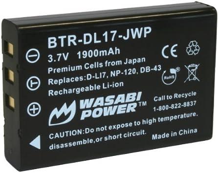 BATTERY 1800mAh FOR Toshiba Camileo H30 H 30