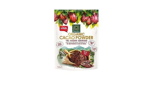 Terrafertil 567G Polvo De Cacao Orgánico: Amazon.es: Alimentación y bebidas