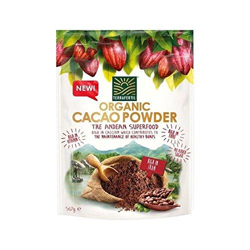 Terrafertil 567G Polvo De Cacao Orgánico