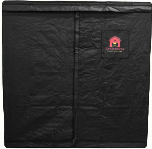 Geneva Barns GB60TW Reflective Hydroponic Grow Tent with T-Zipper, 76