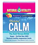 natural calm drink - Natural Vitality Natural Calm Anti Stress Drink 30 count Raspberry Lemon flavor