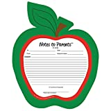 Creative Shapes Etc. Notes to Parents Blank Apple
