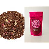 Rooibos Tea - Loose Leaf Red Tea - Cherry Rose 50 Gram (Cherry Rose)