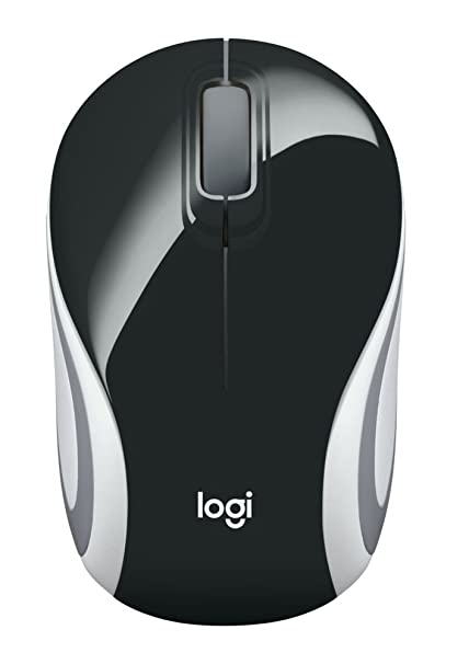 f2c60f32167 Amazon.in: Buy Logitech M187 Wireless Mini Mouse (Black) Online at Low  Prices in India | Logitech Reviews & Ratings