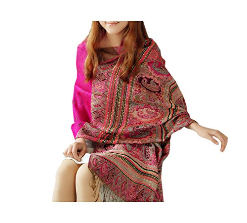 ARJOSA-Womens-Fashion-Knitted-Floral-Patterned-Oversized-Scarf-Shawl-Wrap