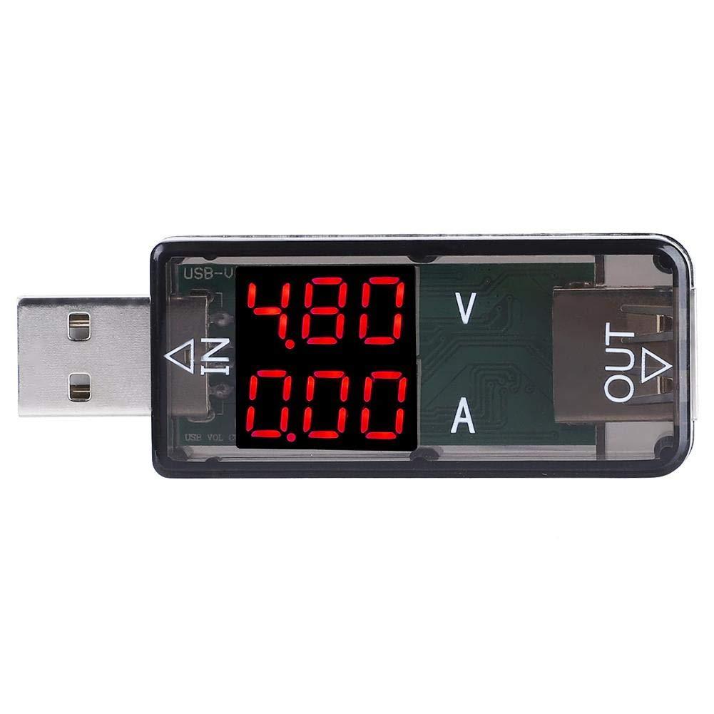 Chargeur USB DC 3.2-10V Docteur DEL courant tension Meter Testeur voltmètre ampèremètre