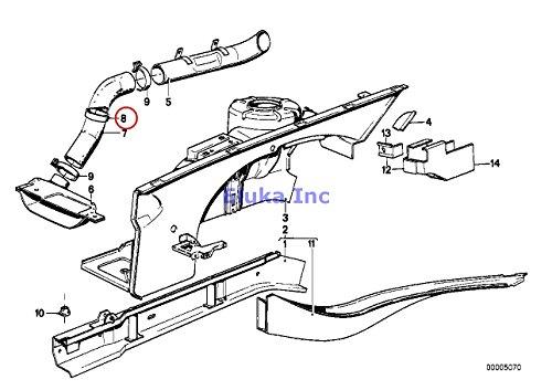 Amazon Com 6 X Bmw Genuine Exhaust Manifold Fuel Injection System