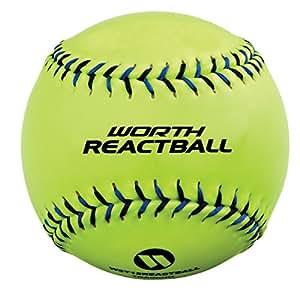 Worth 5-Tool 12-Inch Softball React Ball