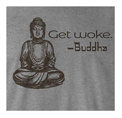 9 Crowns Tees Men's Zen Get Woke Graphic Shirt