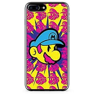 loud universe Mario brother iPhone 8 Plus Case Face Color Mario iPhone 8 Plus Cover with Transparent Edges