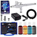 Best Master Airbrush Airbrush Makeup Kits - Master Airbrush Complete Airbrush Cake Decorating Kit Review