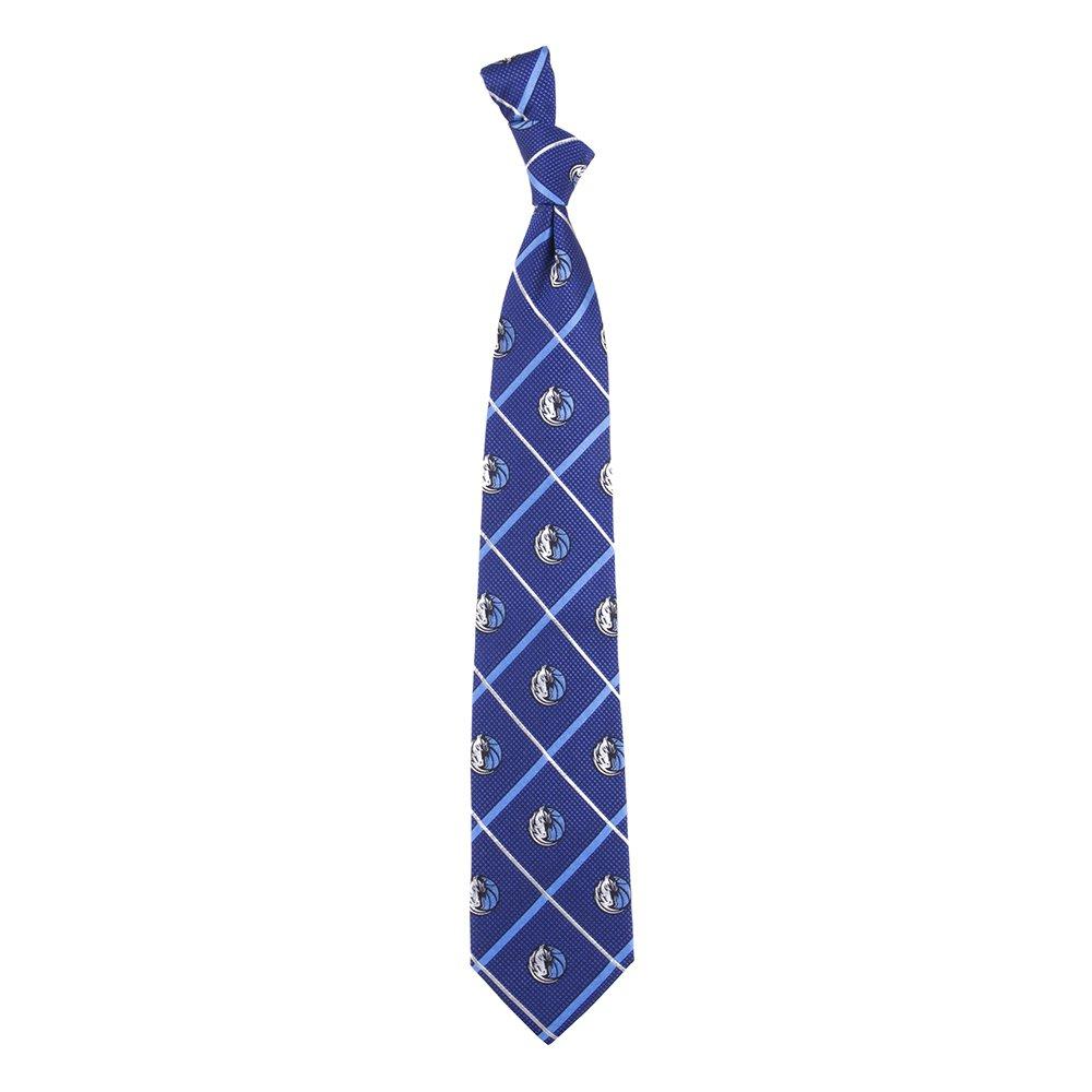 Eagles Wings EAG-7793 Dallas Mavericks NBA Silver Line Woven Silk Mens Tie