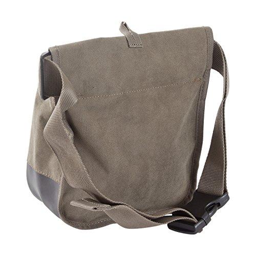 Allen Select Canvas Double Compartment Shell Bag