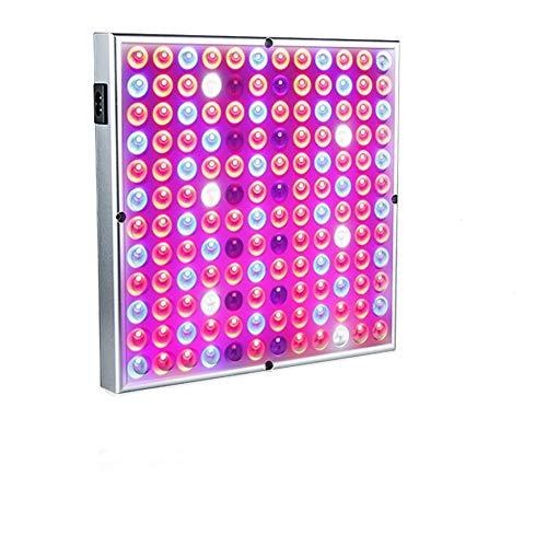 600W Grow Light for Indoor Plants Growing Lamp 144 LEDs IR UV Full Spectrum Plant Lights Bulb Panel for Hydroponics Greenhouse Seedling Veg and Flower