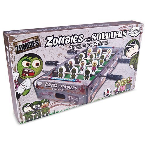 Zombies Vs Soldiers Themed Table Football / Soccer / Foosball Game