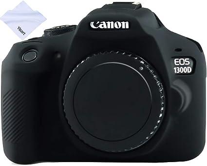 /Funda de silicona para Canon EOS 1300d cuerpo suave silicona protectora Case Cover Easy cover/