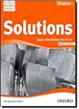 Solutions. Upper-Intermediate. Workbook and Audio CD Pack (Miscellaneous) - 9780194553681 (Solutions Second Edition)