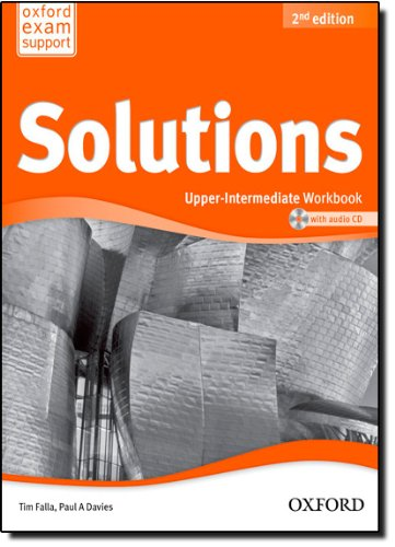 Solutions  Upper Intermediate  Workbook And Audio Cd Pack
