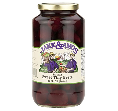 Sweet Pickled Beets - Jake & Amos Pickled Sweet Tiny Beets 32 Oz. (2 Jars)