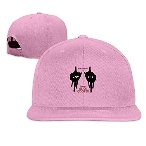 Ernie Mask (Alice Cooper Singer Songwriter Mask Logo Custom Men's Baseball Caps)