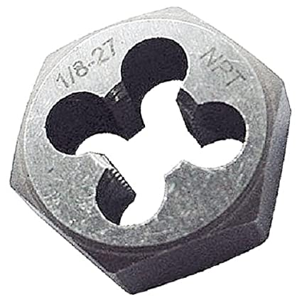1017-1806 1//2-14 NPT Hexagon Pipe DIE