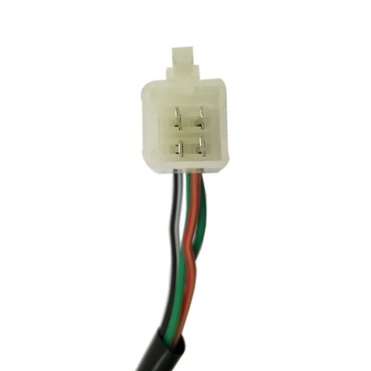 MMG Right Side RH Starter Switch Electric Starter Button plus Kill Switch for Scooters 50cc 4 Wires//Pin Connector