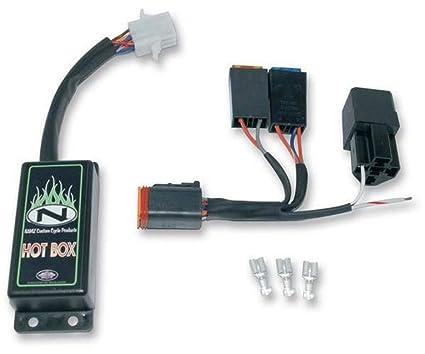 amazon com namz custom cycle hot box wiring harness for american rh amazon com