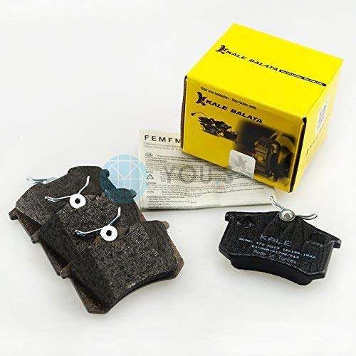 Kale Brake Pads Set Rear Axle Brake Liners Brake Pads: