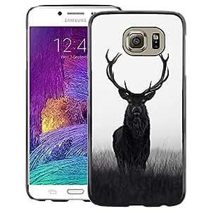 Red-Dwarf Colour Printing Deer Antlers Hunter Hunting Spring Majestic - cáscara Funda Case Caso de plástico para Samsung Galaxy S6 SM-G920