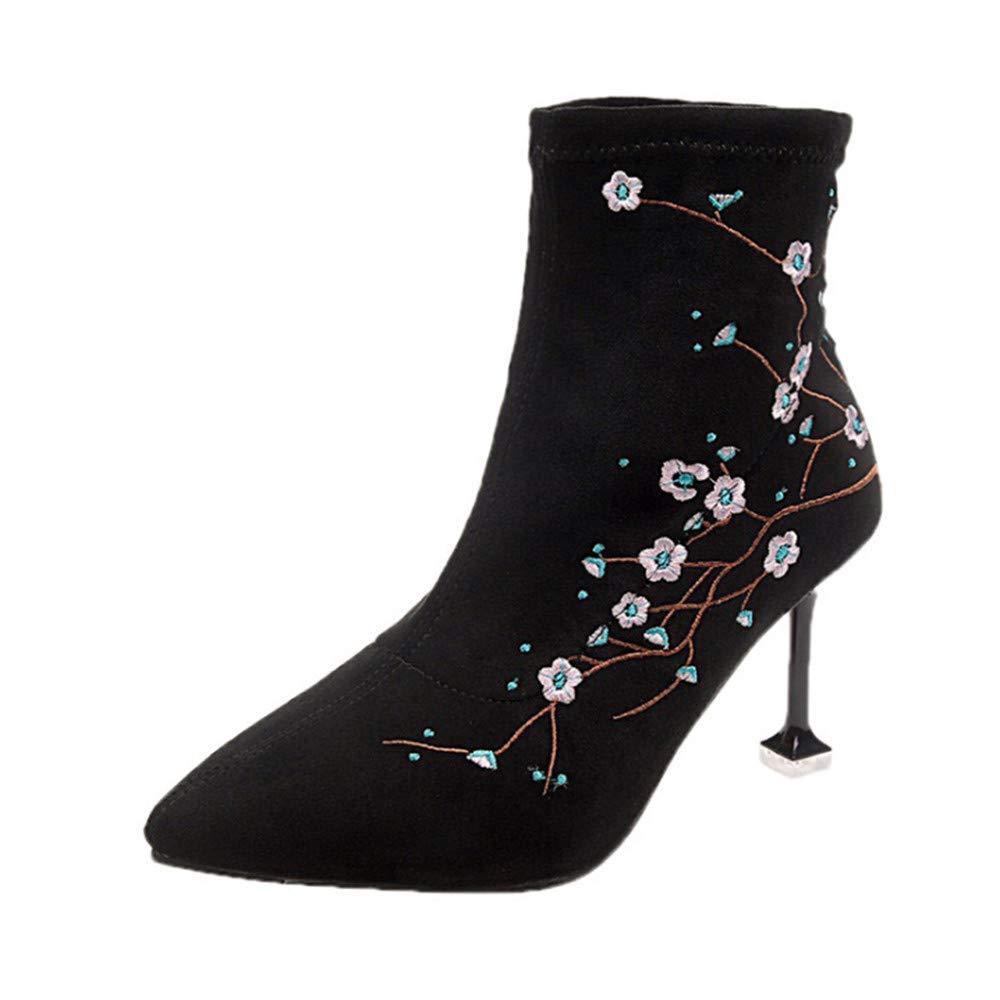 Hunzed women shoes SWEATER レディース 6 M US ブラック B07K9JBLFC, アクリル雑貨デコデコ 1ab066f7