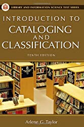 Introduction to Cataloging and Classification, 10th Edition