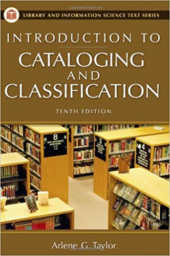 :FB2: Introduction To Cataloging And Classification, 10th Edition (Introduction To Cataloging & Classification). Private Cross Tuberias Hendrick where reclutar