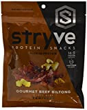 Cheap Stryve Teriyaki Biltong | No Fat, Low Carb, Low Sugar | 16g Protein | 4oz | Gluten Free and Ketogenic