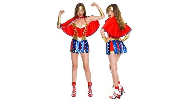 LAVINI COSPLAY-De rol uniformes de juego Supergirl Wonder ...