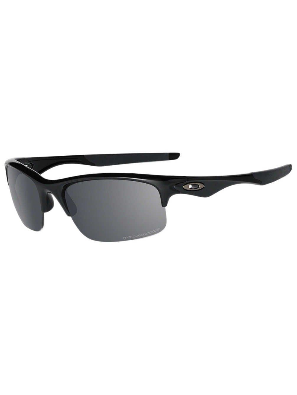 Oakley Bottle Rocket Men's Polarized Active Sports Sunglasses/Eyewear - Polished Black/Black Iridium/One Size Fits All by Oakley