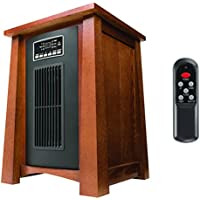 Haier 1500W 5100 BTU Infrared Space Heater with Remote
