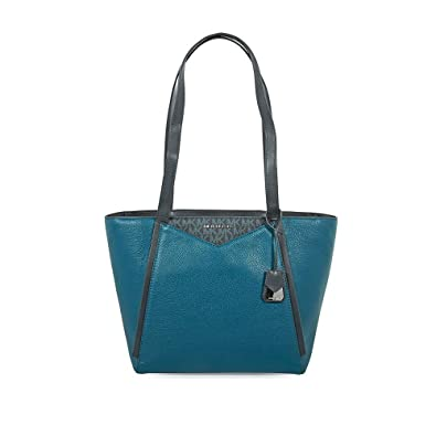 4ef0c0bf6f14 Image Unavailable. Image not available for. Color: Michael Michael Kors  Whitney Small Top Zip Leather Tote