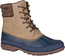 Sperry Mens Cold Bay Boot Boots, Taupe/Navy, 10.5