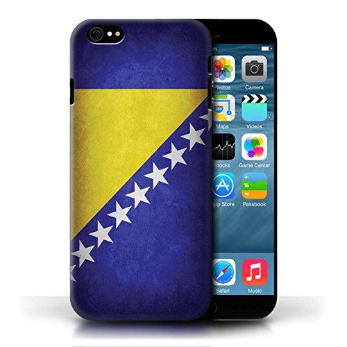 Hülle Case für Apple iPhone 6/6S / Bosnien und Herzegowina Entwurf / Flagge Collection