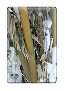 Heimie Perfect Tpu Case For Ipad Mini/mini 2/ Anti-scratch Protector Case (bamboo In Snow Nature Other)