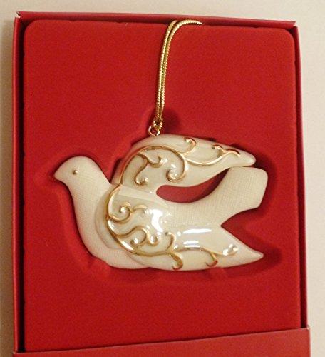 Lenox Dove Scroll Ornament,